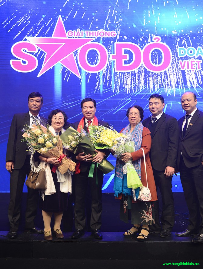 giải thưởng thương hiệu sao đỏ 2017