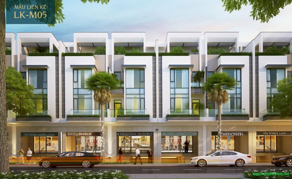 mẫu nhà phố dự án sài gòn mystery villas