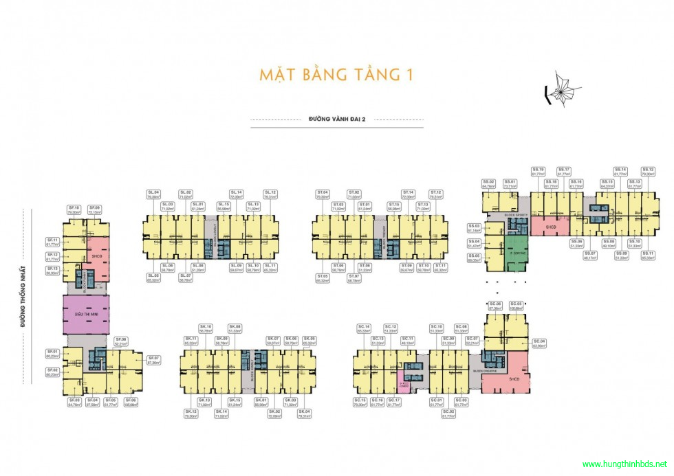mat bang shophouse tang 1 can ho 9x next gen lang dai hoc